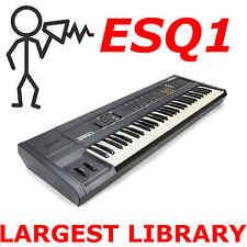 Ensoniq ESQ-1 ESQ-m Largest Collection Patch Sound Program Library
