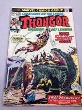 Creatures on the Loose #26 Thongor Warrior of Lost Lemuria Marvel Nov 1973 FN +