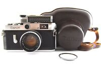 【EXC+5】Canon P 35mm Rangefinder Film Camera 50mm F1.8 L39 LTM From JAPAN #741-1
