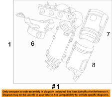 Jeep CHRYSLER OEM 09-10 Grand Cherokee 5.7L-V8-Exhaust Manifold 53013858AD