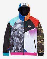 Men's Nike NYC Sportswear Windrunner Running Jacket Multicolor CW4780 731 BNWT