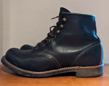 Red Wing Blacksmith Heritage Boots Black Prairie Leather 3345 Men's 7.5