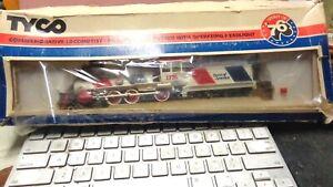 "Tyco 247 Spirit Of '76 ""Spirit Of America"" Locomotive w/Tender #247 in Box"