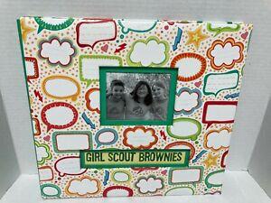 Girl Scout Brownies Scrapbook Photo Album 12 X 12 New
