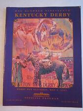 1993 KENTUCKY DERBY OFFICIAL PROGRAM - NICE CONDITION - TUB BN-9