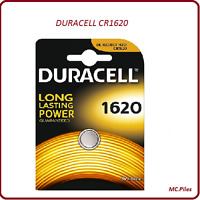 Piles boutons Duracell 3V lithium CR2032/2025/2016/1616/1620/1220/2430/2450