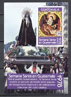 37323) GUATEMALA 1978 MNH** Holy Week S/S Scott# C645a