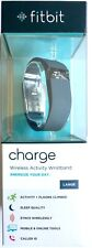 Fitbit Charge ~ Wireless Activity Wristband In Blue / Gray ~ Large ~ New In Box