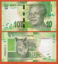 P138b Afrique du Sud/South Africa 10 Rand 2013/16 avec OMRON UNC