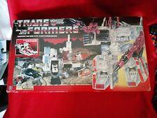Transformers G1 Vintage Metroplex in original packaging