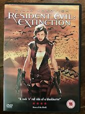 Milla Jovovich RESIDENT EVIL EXTINCTION ~ 2007 Zombie Horror Sequel ~ UK DVD