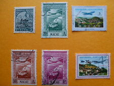 LOT 6101 TIMBRES STAMP POSTE AERIENNE MACAO MACAU PORTUGAL ANNEE 1936 A 1979