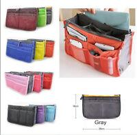 2017 Women's Travel Insert Handbag Organiser Purse Large liner Organizer Bags