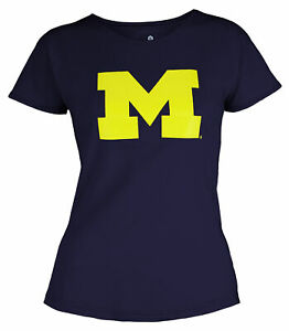 Outerstuff NCAA Youth Girls Michigan Wolverines Dolman Primary Logo Shirt