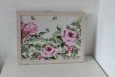 Vintage Chic Floral Lap Tray