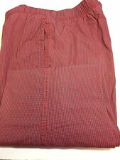 Mens GAP Lounge Pajama Pants Size M 32/34  Red Hearts on Navy D1-205