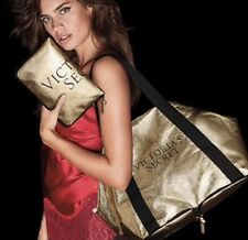 "2017 VICTORIAS SECRET Limited Edition 2017 Packable ""IT"" Bag tote gold"