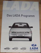 Prospekt Lada Programm 2003 110 111 112