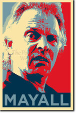 RIK MAYALL PHOTO PRINT POSTER (OBAMA HOPE) BOTTOM THE YOUNG ONES RICK