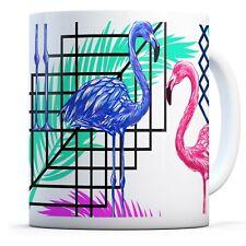 Flamingos Palm Bird - Drinks Mug Cup Kitchen Birthday Office Fun Gift #14874