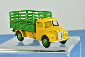 Vintage Dinky truck: 4-wheel DODGE Farm Produce Wagon #343