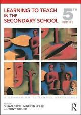 Learning to Teach in the Secondary School by Taylor & Francis Ltd (Paperback, 2…