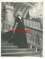 VINTAGE Lana Turner DRAMATIC '41 ZIEGFELD GIRL Publicity Portrait