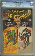 AMAZING SPIDER-MAN #37 CGC 8.5 OW/WH PAGES // 1ST APPEARANCE OF NORMAN OSBORN