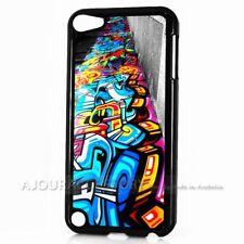 ( For iPod Touch 6 ) Back Case Cover AJ10851 Graffiti