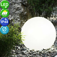 4er Set Outdoor Garten LED Solar Kugel Leuchte Deko Steck Lampe IP44 8hrs Hof