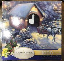 Thomas Kinkade Jigsaw Puzzle, Winter Evening Memories 1000 Pieces, Sealed, NIB