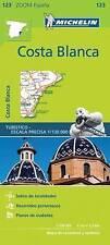 Costa Blanca Zoom Michelin Map 123