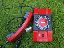 Rare Vintage Soviet Poland Rotary Dial Phone Telephone Telkom