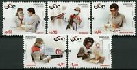 Portugal Postal Services Stamps 2020 MNH 500 Years Workers Corona 5v Set