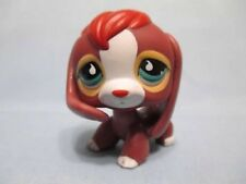 Littlest Pet Shop Dog Beagle Brown Red Rare 849 Authentic Lps