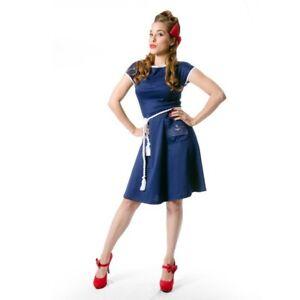 Rock Steady Navy Sailor Dress