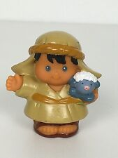 Fisher Price Nativity RARE Shepherd with Lamb Little People Christmas Holidays