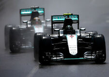 Nico Rosberg Lewis Hamilton Mercedes Petronas Formula One F1 Race cars Photo