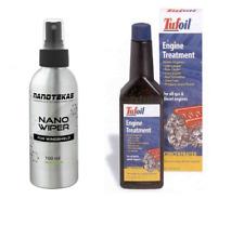 Tufoil Engine Treatment 237 ml oil additive Lubricant Car & Nano Wiper For Glass