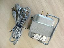Vintage TRANSFORMATEUR 110-120V / 220V - 150VA pour anciennes Machines à Coudre