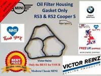 Genuine BMW Oil Filter Housing to Block Gasket MINI Cooper S JCW R53 R52 Gen 1