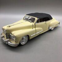 Anson White 1947 Series 62 Convertible Cadillac Diecast Model 1/18 Scale - E32