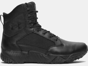 """Under Armour Men's UA Stellar 8"""" Tactical Duty Leather Boots 1268951 - New 2021"""