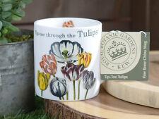Royal Jardines Botánicos, Kew tip-toe Tulipanes Porcelana Fina Taza
