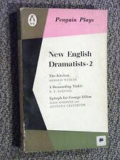 Penguin Play PL38 New English Dramatists 2 Arnold Wesker Simpson John Osbourne