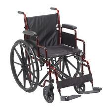 Drive Medical Rebel Lightweight Wheelchair RTLREB18DDA-SF NEW