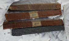 4 USAF USN USMC Ejection Seat Parachute MBEU Bungee Straps, New Old Stock!!