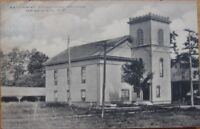 1910 NY Postcard: M. E. Church - Hagaman, New York