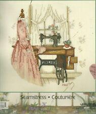 Paula Vaughan,Counted Cross Stitch Kit, SEAMSTRESS, MPN-113966,Sealed,dressform