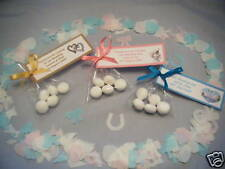 10 Personalised MINT Imperial Wedding Favor Bags Also Ideal Birthday Christening